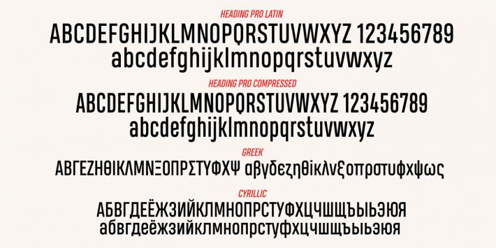 heading smallcase pro bold font free download