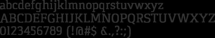 Gaspar Font Specimen