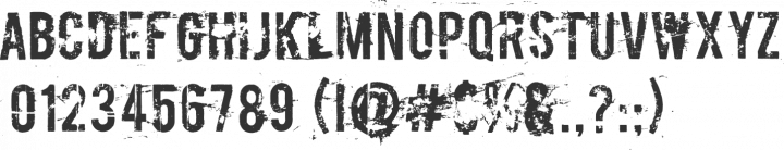 Boycott Font Specimen