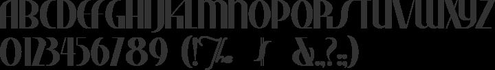Studebaker Font Specimen
