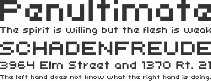 uni 05_53 Font Phrases
