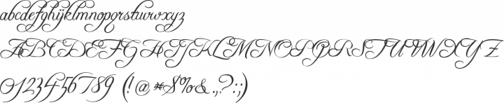 Freebooter Script Font Specimen