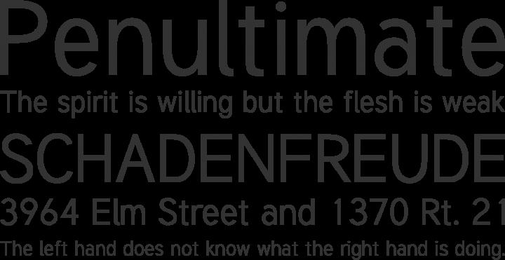 Tuffy Font Phrases
