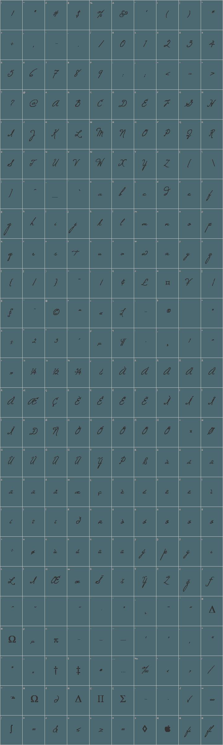 Windsong Glyph Map