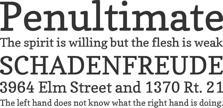 Copse Font Phrases