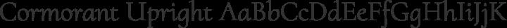 Cormorant Upright Regular free font