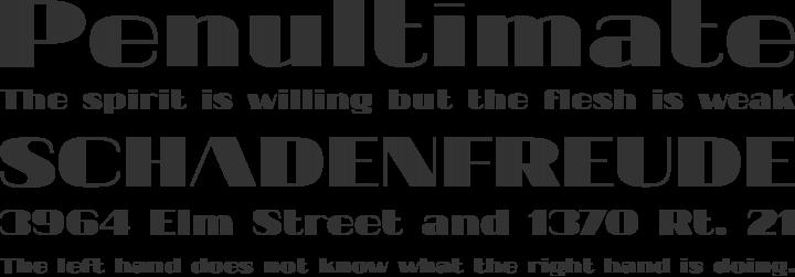 20db Font Phrases