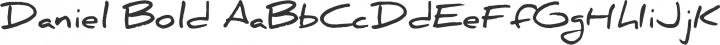 Daniel Bold free font