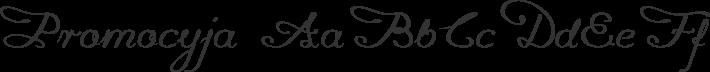 Promocyja font family by GLUK fonts