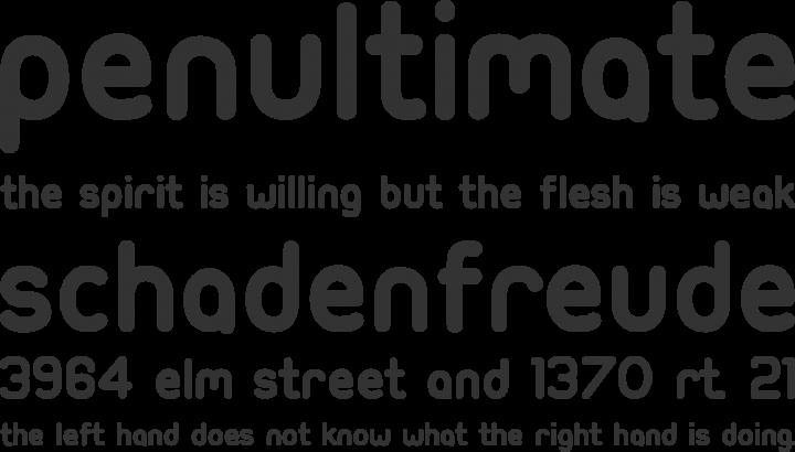 Ubuntu-Title Font Phrases