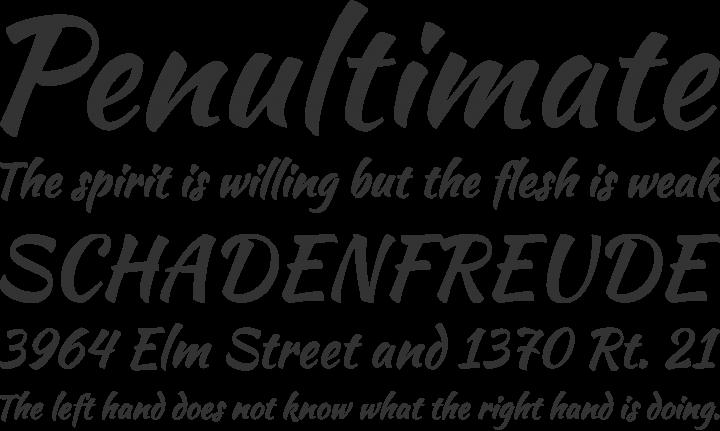 kaushan script font free by impallari type font squirrel