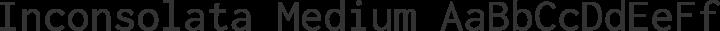 Inconsolata Medium free font