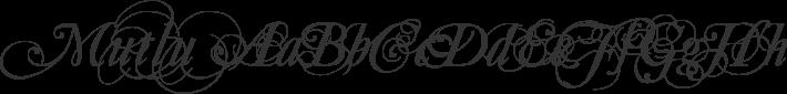 Mutlu font family by Gazoz