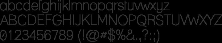 Lane  Font Specimen