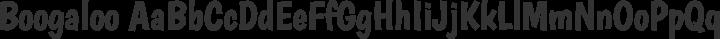 Boogaloo Regular free font