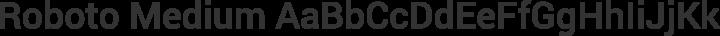 Roboto Medium free font