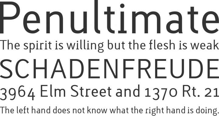 Lacuna Regular Font Phrases