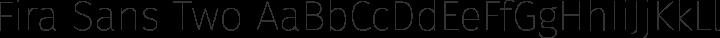 Fira Sans Two free font