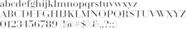 Geotica 2012 Font Specimen
