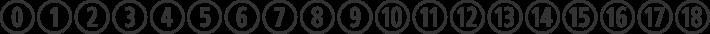 CombiNumerals Ltd font family by FontSite Inc.