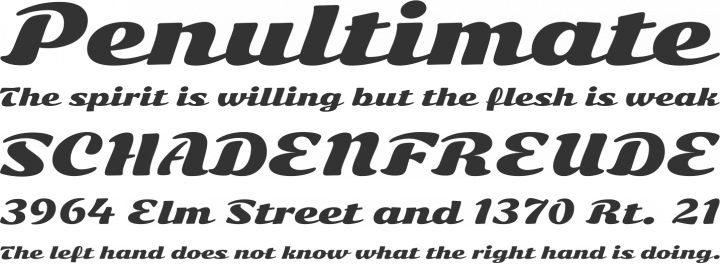 Sonsie One Font Phrases