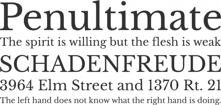 Libre Baskerville Font Free by Impallari Type » Font Squirrel