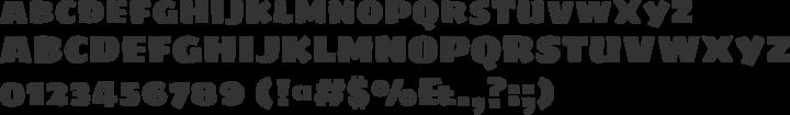 Sigmar Font Specimen