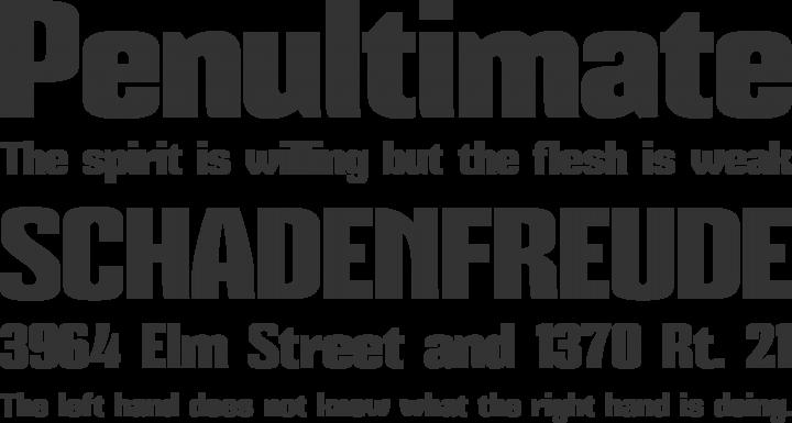 Mikodacs Font Phrases