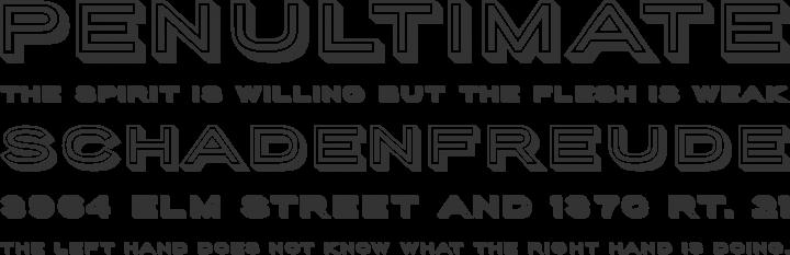 Porter Sans Font Phrases