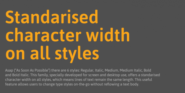 asap font free by omnibus type font squirrel